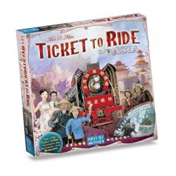 Ticket To Ride - Map - Asia
