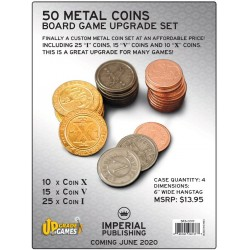50 metal Coin Board Game...