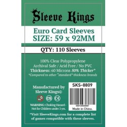 Sleeve Kings: Euro 59x92mm