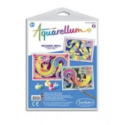 Aquarellum Navulling - Draken