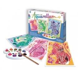 Aquarellum - Katten