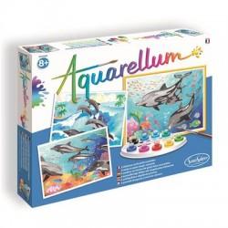 Aquarellum - Dolfijnen